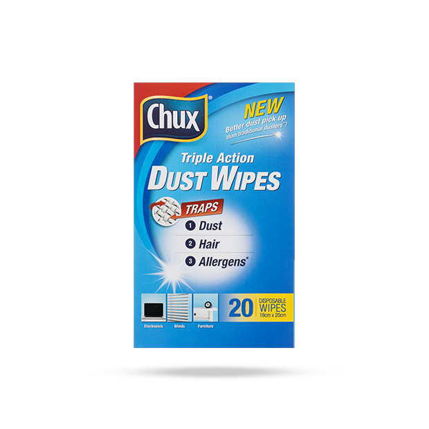 Chux® Triple Action Dust Wipes - 20 Pack