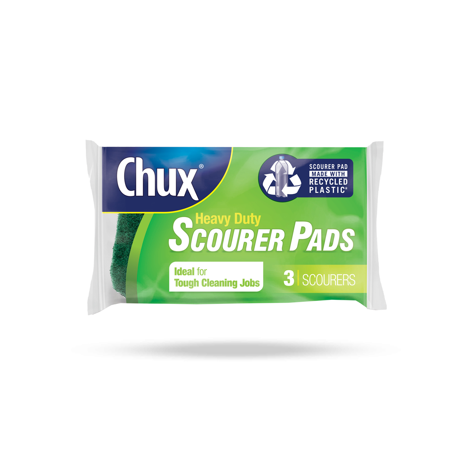 Chux® Heavy Duty Scourer Pads - 3 Pack