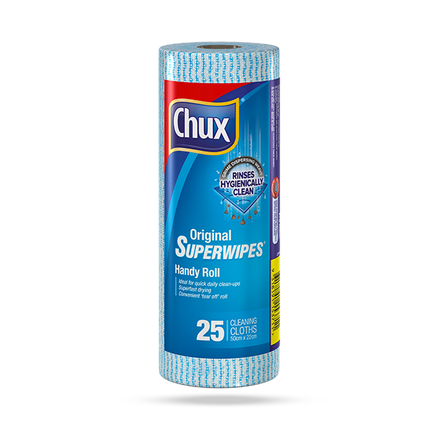 Chux® Original Superwipes® Handy Roll – 25 Roll